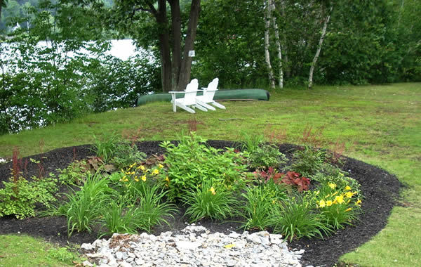 rain garden in leominster ma photo credit ma watershed coalition