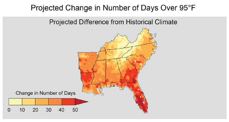 Climate Impacts in the Southeast | Climate Change Impacts | US EPA on