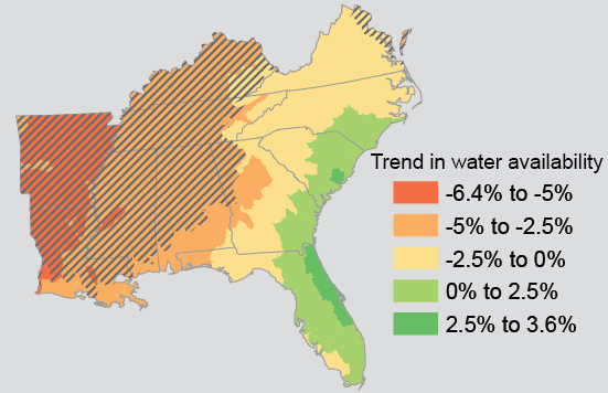 Climate Impacts in the Southeast | Climate Change Impacts | US EPA