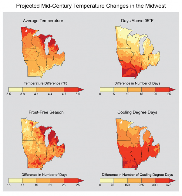 Climate Impacts in the Midwest | Climate Change Impacts | US EPA