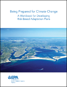 cover of Being Prepared for Climate Change workbook