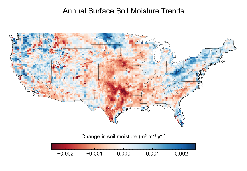 Climate Impacts On Water Resources Climate Change Impacts US EPA - Us air moisture map