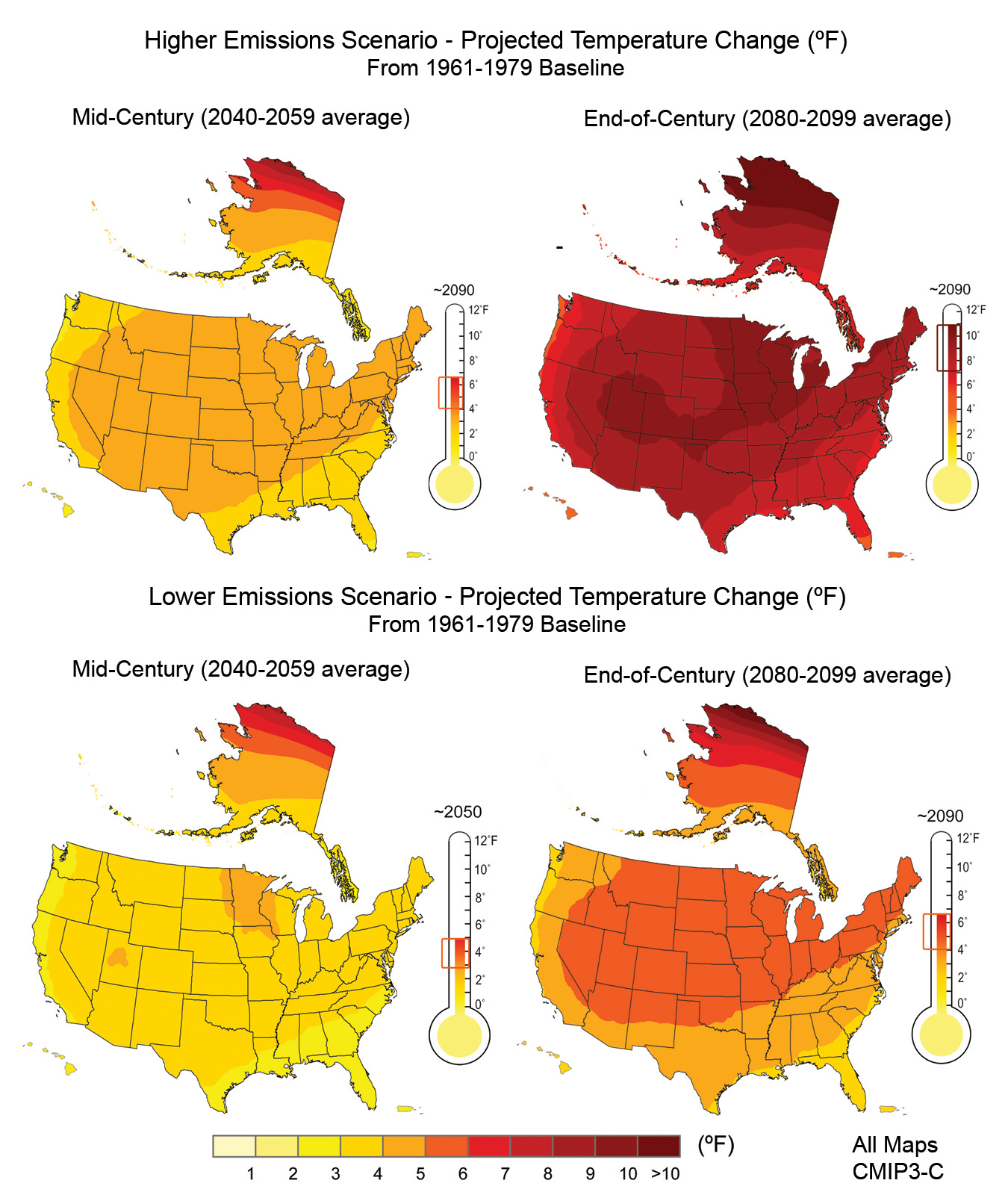 Future Of Climate Change Climate Change Science Us Epa