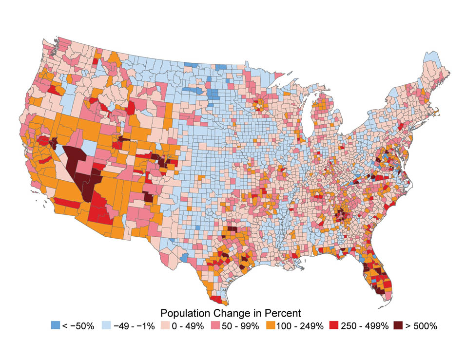 Climate Impacts On Society Climate Change Impacts US EPA - Maps of us over time