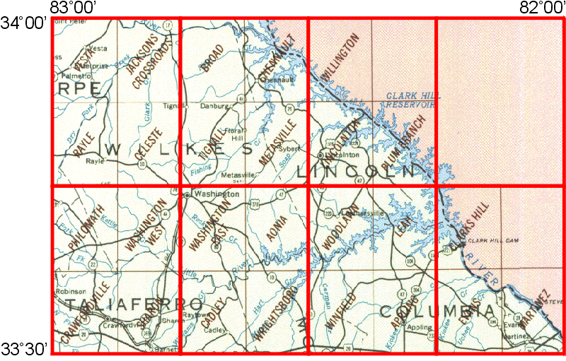 clark hill lake map Whaem2000 Bbm Files Clark Hill Lake Georgia Epa Center For clark hill lake map