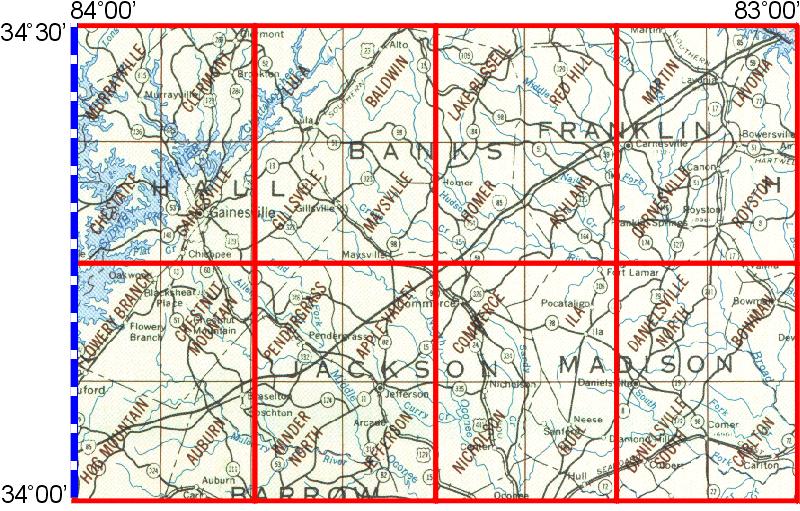 Commerce Georgia Map.Whaem2000 Bbm Files Commerce Georgia Epa Center For Exposure