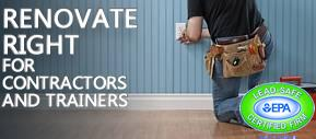 Renovate Right for Contractors and Trainers