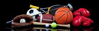 Picture of sports equipment - links to Additional Resources