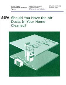 Should you have air ducts in your home, Brochure.