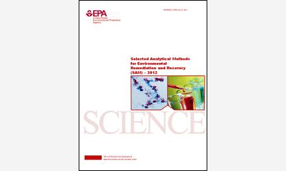 Cover Page for the Selected Analytical Methods (SAM) 2012 Document