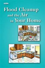 Cover to the Flood Cleanup and the Air In Your Home document