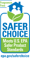 Safer Choice fragrance-free label
