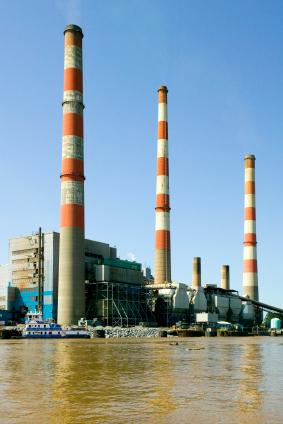 Image of a power plant