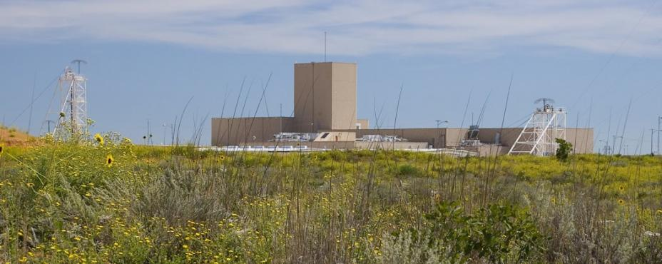 External view of the WIPP facility
