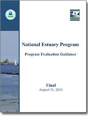 The cover of National Estuary Program: Program Evaluation Guidance - Final August 31, 2011