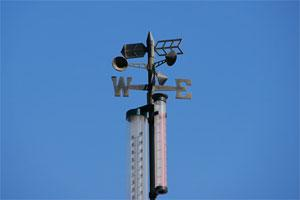 Image of a weathervane.