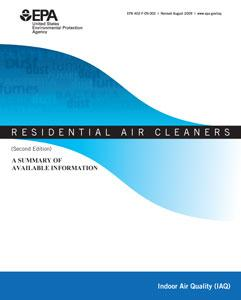 Cover to: Residential Air Cleaners