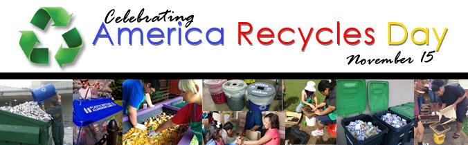 America Recycles Day 2015