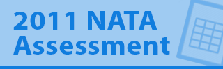 2011 NATA Assessment with an image of a spreadsheet icon