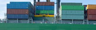 picture of several shipping containers aboard a cargo ship