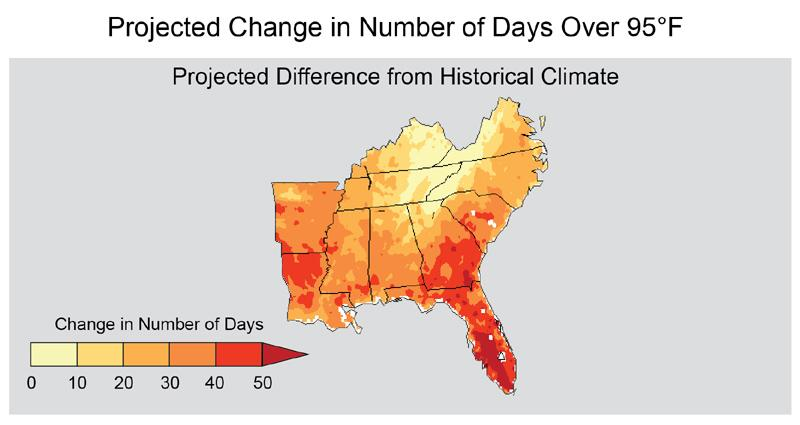 Climate Impacts in the Southeast | Climate Change Impacts