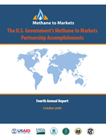 U.S. Government's Methane to Markets Partnership Accomplishments 2009 Annual Report cover
