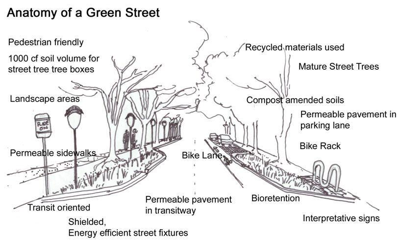 Learn About Green Streets | Green Streets, Green Jobs, Green Towns ...
