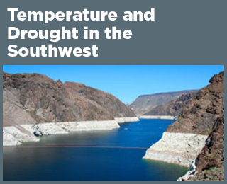 Temperature and Drought in the Southwest