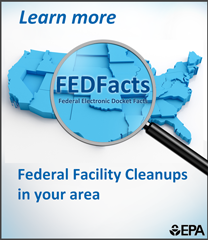 Learn about federal facility cleanups in your area