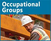 Occupational Group icon: image of a construction worker