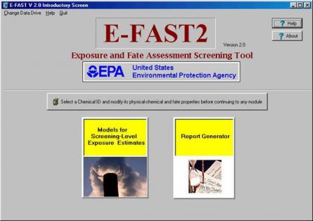 Exposure & Fate Assessment Screening Tool (E-FAST) Version