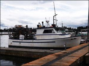 Tulalip fishing vessel with new tier 2 engine photo