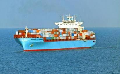 Photo of cargo ship with containers on it