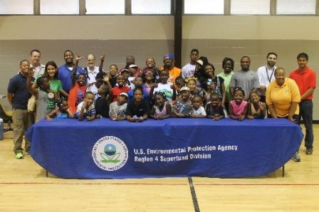 Local children learned about environmental and public health issues during EPA Region 4's Summer Camp.