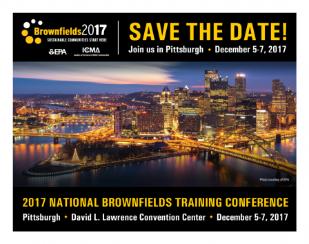 The 2017 National Brownfields Training Conference