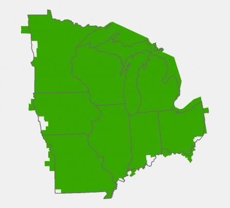 ICLUS Data for the Midwest Region | Integrated Climate and ...