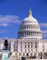 US Capitol represents the source of federal funding opportunities for green infrastructure.