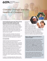 Climate Change and the Health of Children