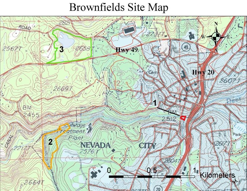 Nevada City - Abandoned Gold Mines | Pacific Southwest: Waste | US on old mine maps, gold mine maps, ohio underground mine maps, coal mine maps,